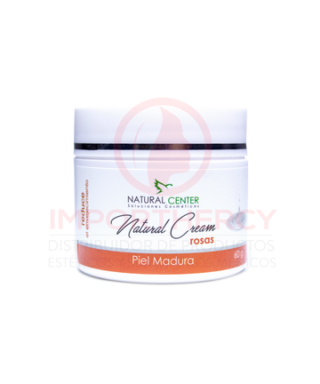 NATURAL CREAM ROSA ANTIAGE 60G