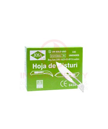 HOJAS DE BISTURI - 24